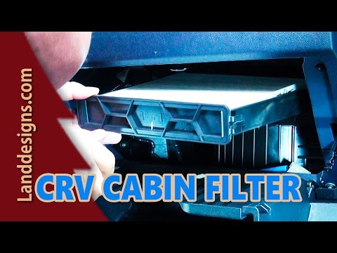 2010 HONDA CRV CABIN AIR FILTER REPLACEMENT