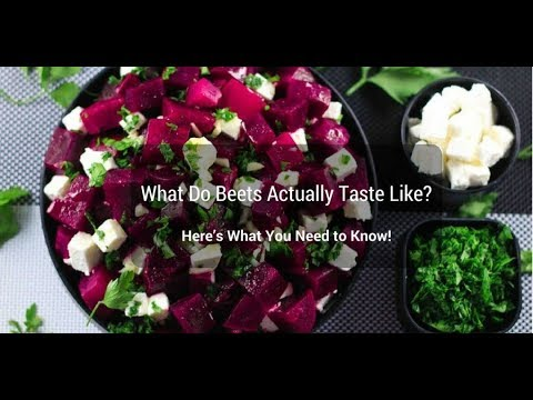 What Do Beets Actually Taste Like | Wikieverythinghow