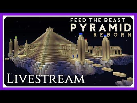FTB Pyramid Reborn | Livestream 13 | FTB Challenge Map