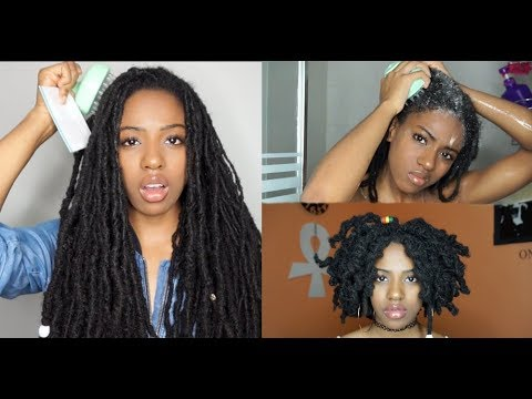 HOW TO HELP YOUR LOCS GROW   MY UPDATED LOC WASH ROUTINE