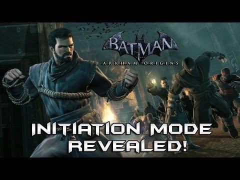 Batman Arkham Origins: Initiation Mode Revealed! + Release Date and Story Details!
