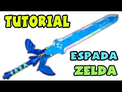Cómo hacer la Espada Maestra - Tutorial Zelda: Skyward Sword