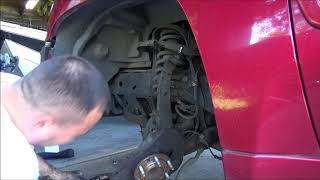 How to Diagnose and Replace Envoy/Trailblazer Wheel Bearing
