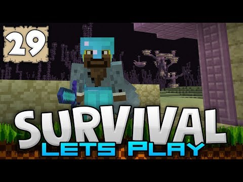 I DIED IN THE END!!! - Survival Let's Play Ep. 29 - Minecraft 1.2 (PE W10 XB1)