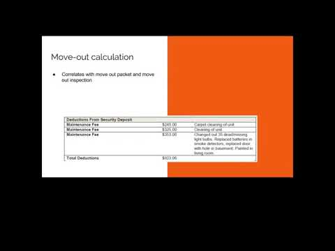 Top tips for providing tenants with their move out-calculation