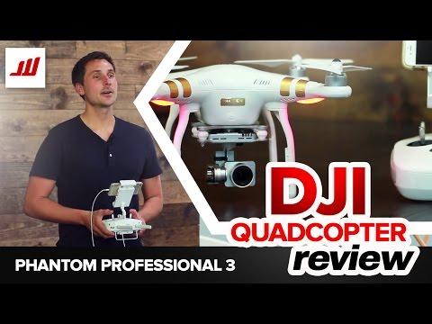 DJI Quadcopter Review (Phantom 3 Professional)