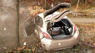 Dirt 4 crashes 2