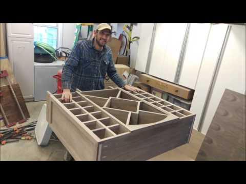 Wine Cabinet build slideshow