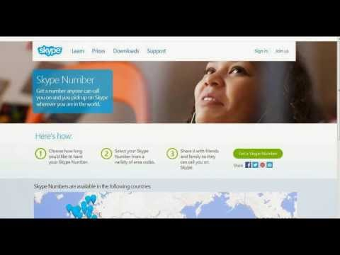 What is Skype Number? How to get it and get free overseas roaming?