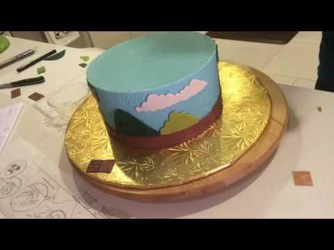 Super Mario  Cake PART II - Decorating