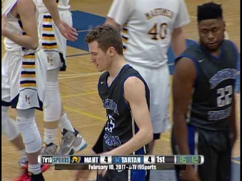 Boys Basketball - Tartan vs Mahtomedi - 2/10/17