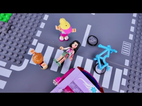 Wypadek Emmy i Piatek 13 💣 Bajka po polsku klocki Lego Friends odc.75