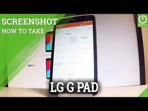 How to Take Screenshot on LG V490 G Pad 8.0 - Capture Screen
