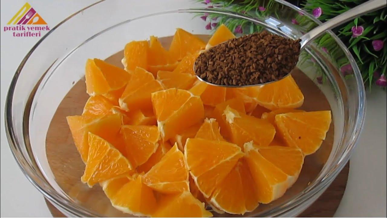 3 tane Portakal ve 10 DAKİKADA fırında,inanılmaz derecede KOLAY ve LEZZETLİ❗Herkes HAYRAN KALACAK👌