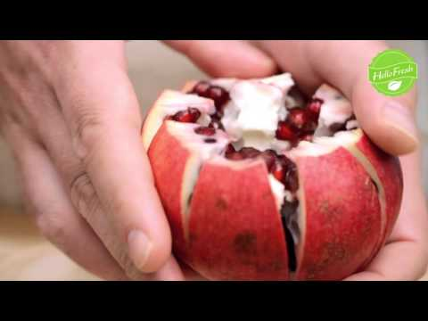 Tips & Tricks - How To Remove Pomegranate Seeds