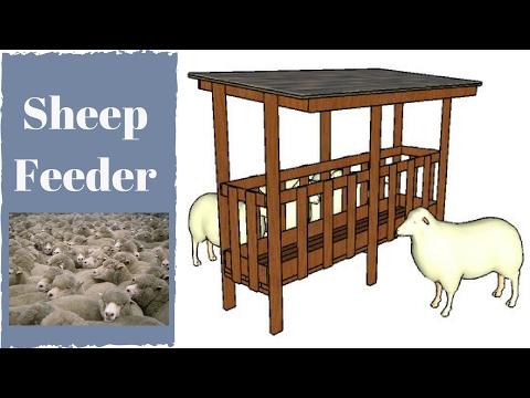 Sheep Feeder Plans