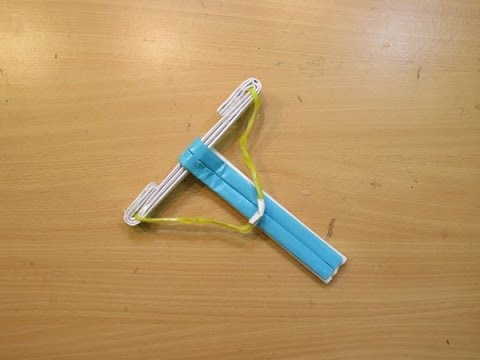 How to Make a Paper Special crossbow - Easy paper crossbow Tutorials