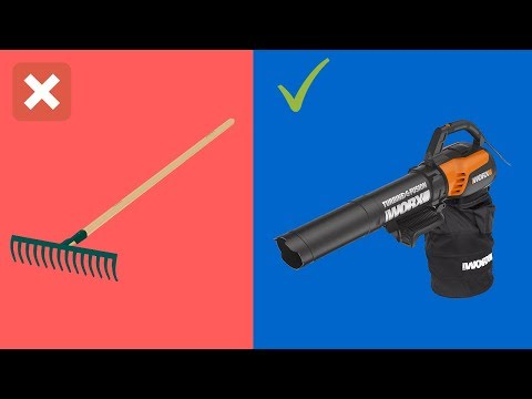 WORX TURBINE Fusion Leaf Blower - gardening tools for removing weeds