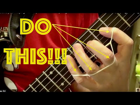Improve your Guitar Playing BEST FINGER EXERCISE FOR GUITAR in YouTube Spider Exercise 3
