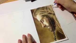 Drawing Thorin Oakenshield