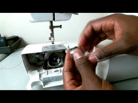 How to Thread a Brother LX-3125 Sewing Machine for Beginners: Bobbin Casing