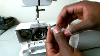 How To Thread A Brother Lx 3125 Sewing Machine For Beginners Bobbin C