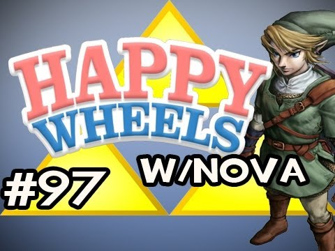 Happy Wheels w/Nova Ep.97 - Legend of Zelda: Ocarina Of Time HD Edition Pt.3
