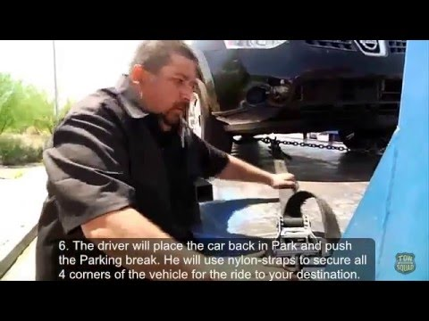 How To Tow a Car With a Flat Bed Tow Truck