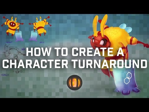 How To Make a Character Design Turnaround