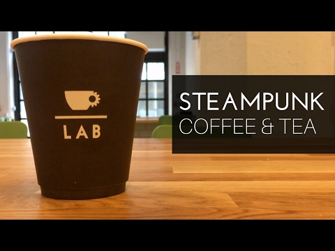 STEAMPUNK - the future of coffee & tea? - Extraction Lab in Industry City Brooklyn