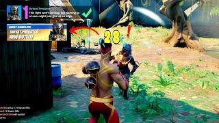 How to unlock FREE Predator Skin in Fortnite - Defeat Predator location (Battle Pass Only)