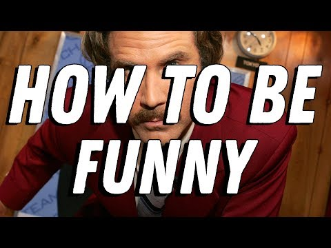 How To Be Funny    Video Essay