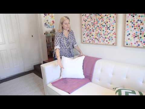 Lorri Dyner Bite-Sized Decorating Tip: Throw Blankets!
