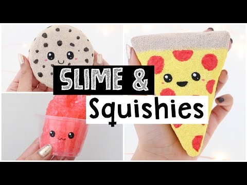 DIY CUTEST SATISFYING SLIME AND SQUISHIES!