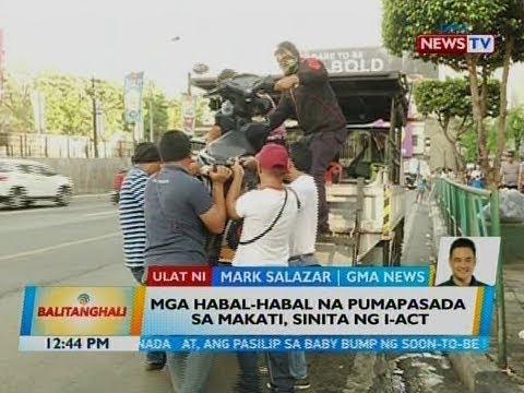BT: Mga habal-habal na pumapasada sa Makati, sinita sa I-ACT
