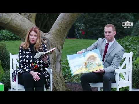 White House Easter Egg Roll: Reading Nook with Susan Pompeo
