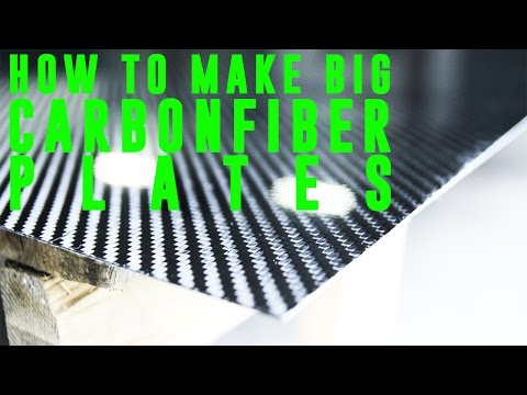 Best Way To Make Big Carbon Fiber Plates (Resin Infusion)