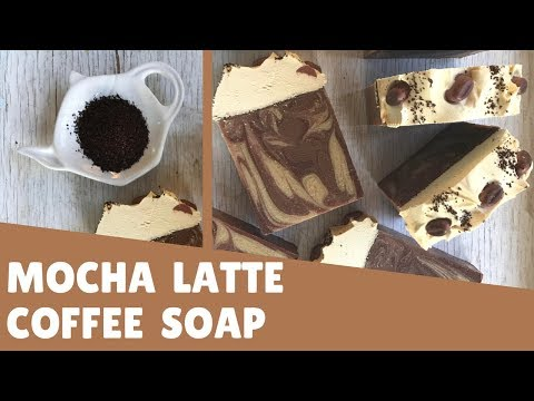 Making Coffee Soap Mocha Latte Style | ☕ Gypsyfae Creations
