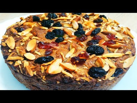 Christmas Cake Recipe – Eggless Fruit Cake Recipe In Pressure Cooker Without Oven - Plum Cake Recipe