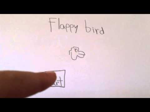 flappy bird paper animation