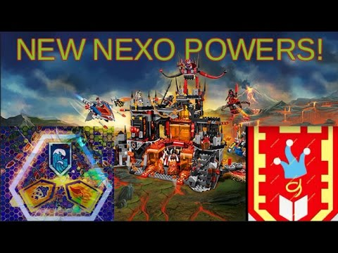 Lots of New Lego Nexo Powers Released