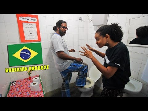 How to use the Brazilian Kakoose (Latrine) - Wilbur Sargunaraj
