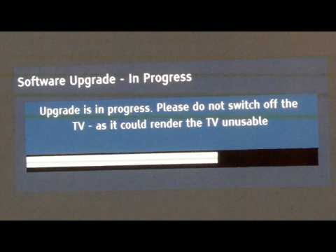 HOW TO: Upgrade Firmware on a Panasonic TV (Veira Models)