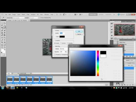 How to make a GIF using Photoshop CS5