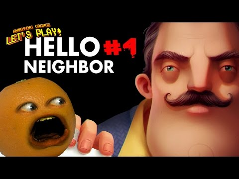 Annoying Orange Plays - Hello Neighbor #4: THE BASEMENT!!!