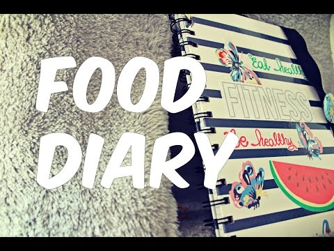 DIY: Food Diary/Journal