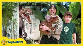 Download Dinosaur Baby Is Missing! Solve Clues in Mystery Dino Eggs & Escape Life Size Raptor Dinosaurs Video