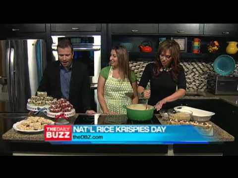 Teaser Segment for The Daily Buzz National Rice Krispies Treats Day