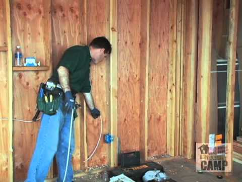 How to Electrical Drilling and Running Wire
