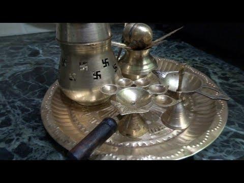 घर में साफ़ करें  पीतल( Brass)के बर्तन, पूजा के बर्तन कैसे साफ़ करें,HOW TO SHINE BRASS .
